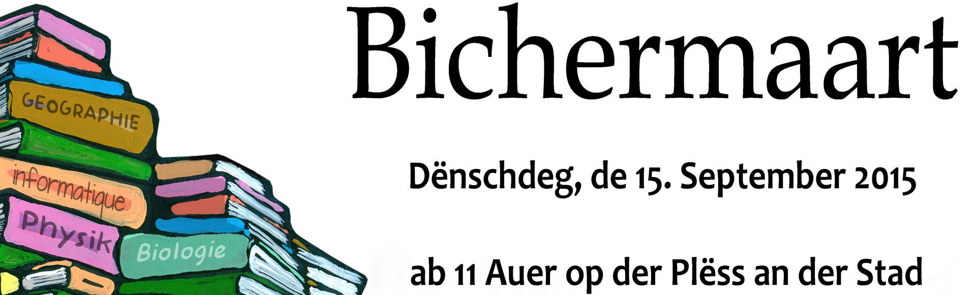 """""""Bichermaart 2015"""" – de 15. September 2015"""