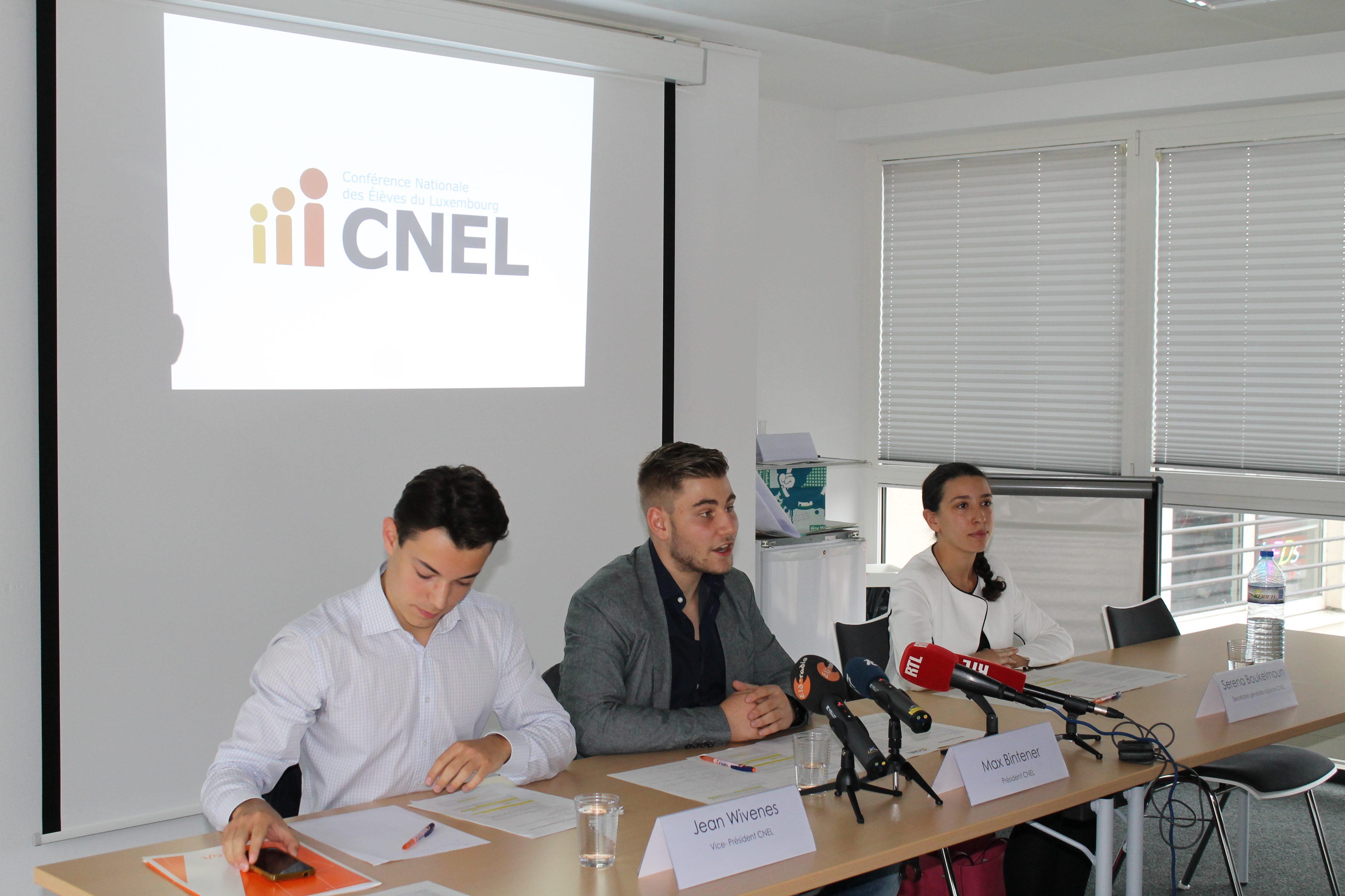 La CNEL a invité à sa conférence de presse « rentrée scolaire »