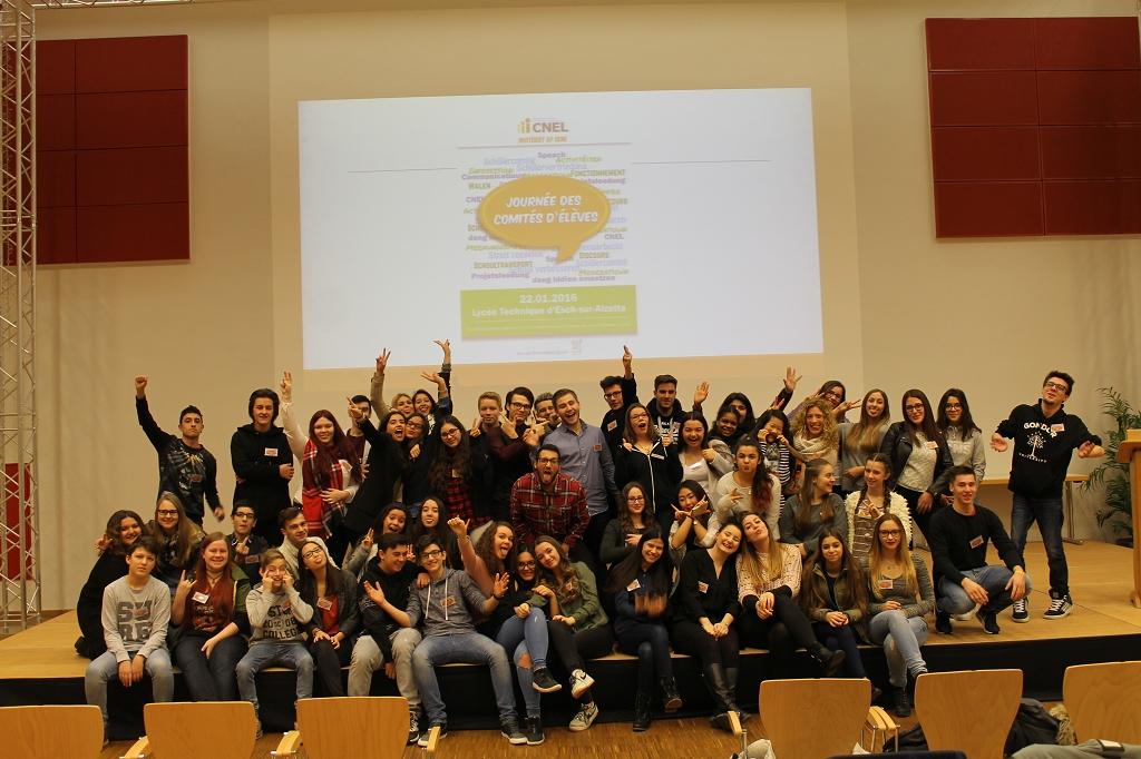 Schülercomité: Journées des Comités d'élèves