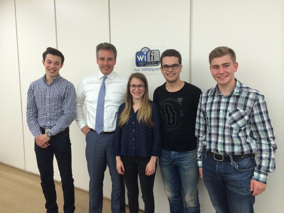Entrevue CNEL mam Educatiounsminister, Claude Meisch
