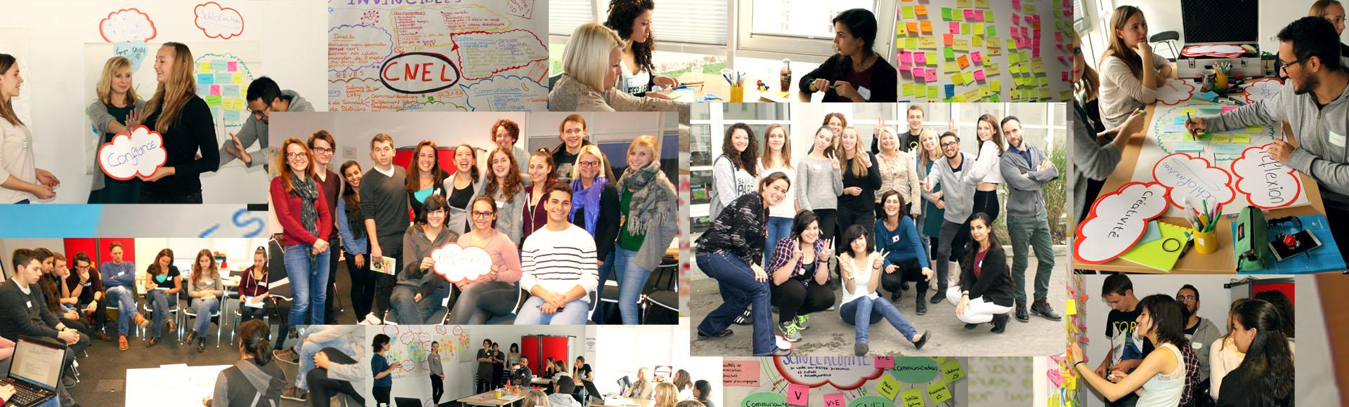 Plus de créativité dans les comités d'élèves et la CNEL – un défi commun!