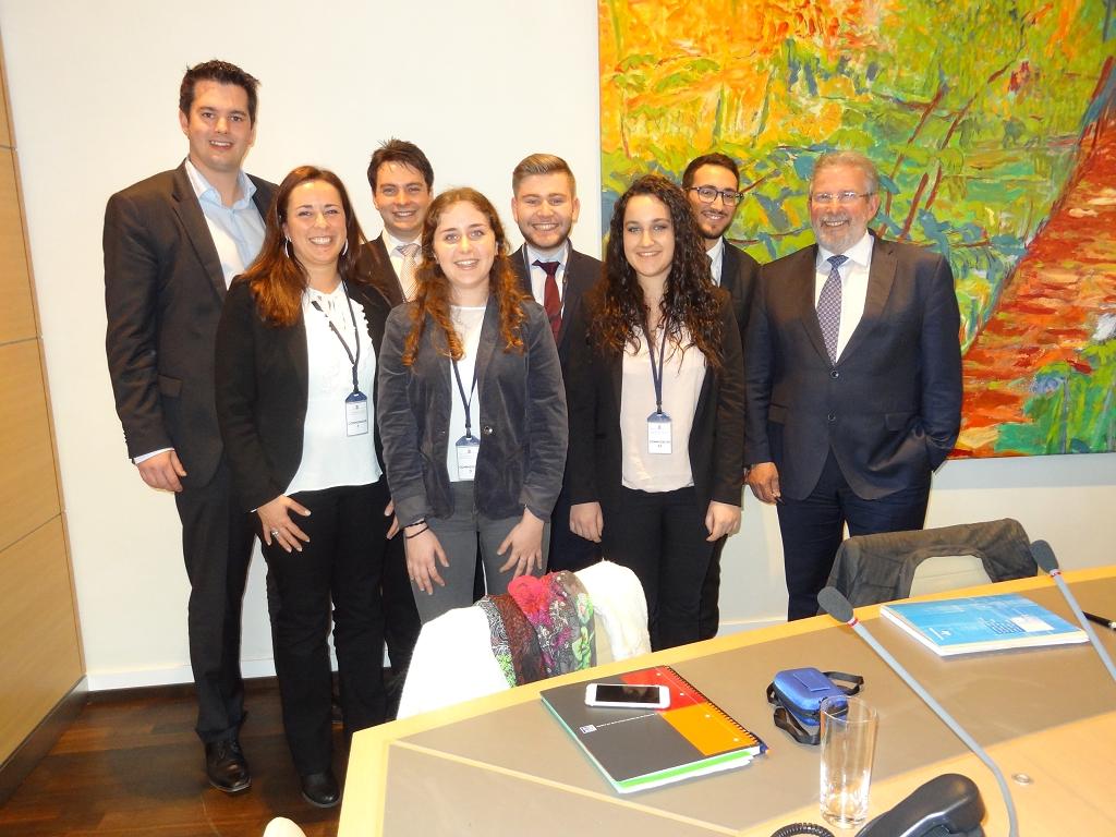 """CNEL meets """"Chambre des Députés"""""""