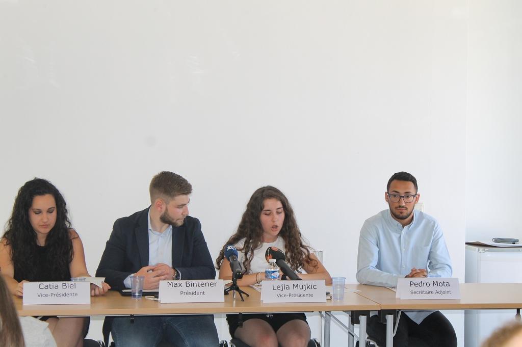 Pressekonferenz iwwert den Avis vun der CNEL zur Schoulreform