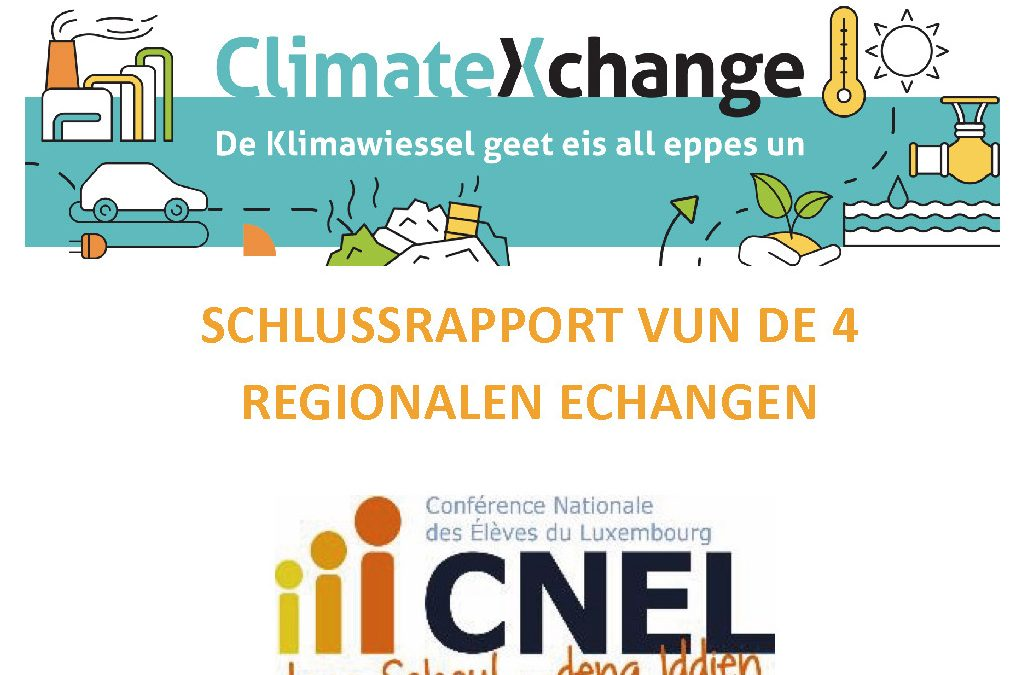 ClimateXchange – De Bericht ass do!