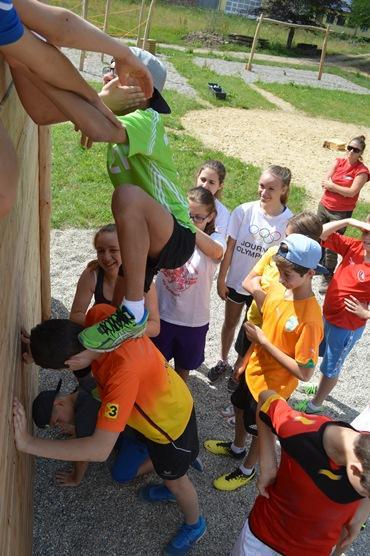 Teambuilding fir Schülercomité