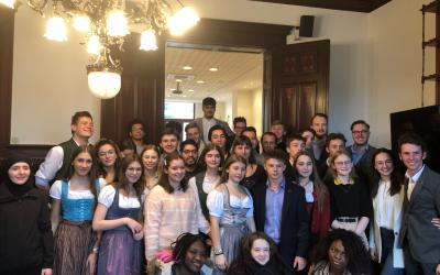 CNEL zu Bréissel mat der Steirischer Landesschülervertretung